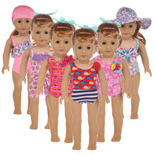 1b8936bf7d0d1 Happy Elfin Baby New Born 43cm 18 Inch Doll Clothes Swimsuit Doll  Accessories For Girl Birthday Gift