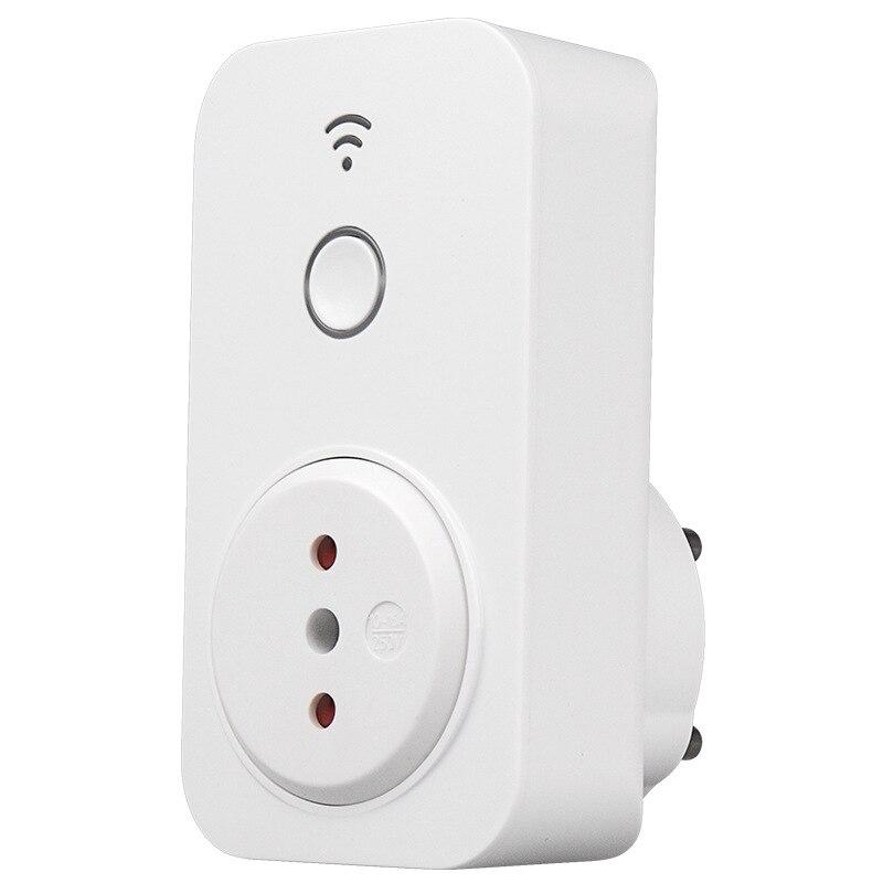 Nova sp2 chile padrão 10a temporizador casa inteligente wi fi tomada tomada de controle remoto sem fio inteligente para iphone android