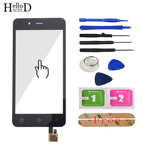 Image 2 - 4.7 Touch Screen Glass For Micromax Q380 380 Touch Screen Glass Digitizer Panel Front Glass Lens Sensor Tools Free Adhesive