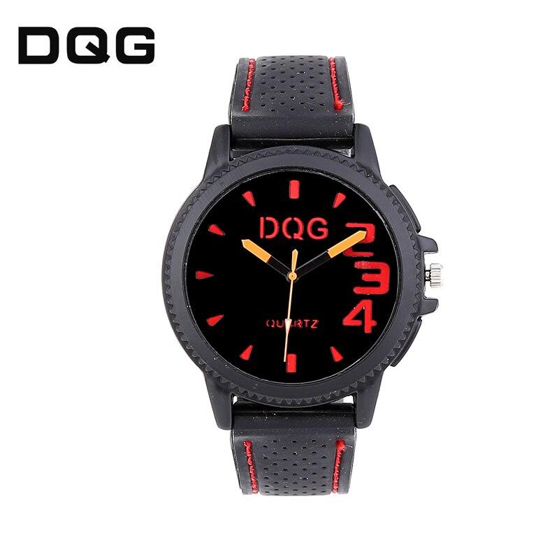 Zegarki Meskie Reloj Hombre DQG Bear Silicone Military Army Waterproof Clock Men Outdoor Quartz Watch