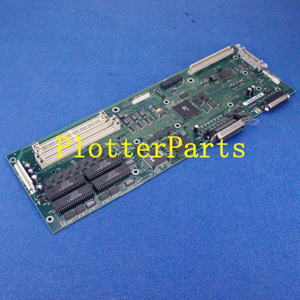 C2847-69101 Main logic board for HP DesignJet 600 plotter parts used c2858 69207 main logic board for hp designjet 650c plotter parts original used