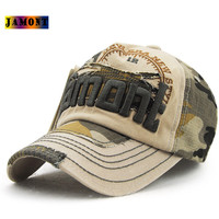 1Piece Baseball Cap Men Women Camouflage Cotton Snapback Hat Wholesale Unisex Hip Hop Couple Sun Hat