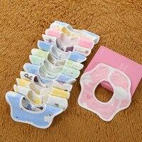 3pcs High Quality Baby Bibs Boy Girl Bibs Infant Saliva Towels Baby Burp Cloths Funny Baby