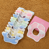 3pcs High Quality Baby Bibs Boy Girl Bibs Infant Saliva Towels Baby Burp Cloths Funny Baby