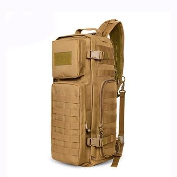 Men Chest Sling Backpack Men's Bags One Single Shoulder Man Large Travel Military Backpacks Molle Bags Outdoors Rucksack