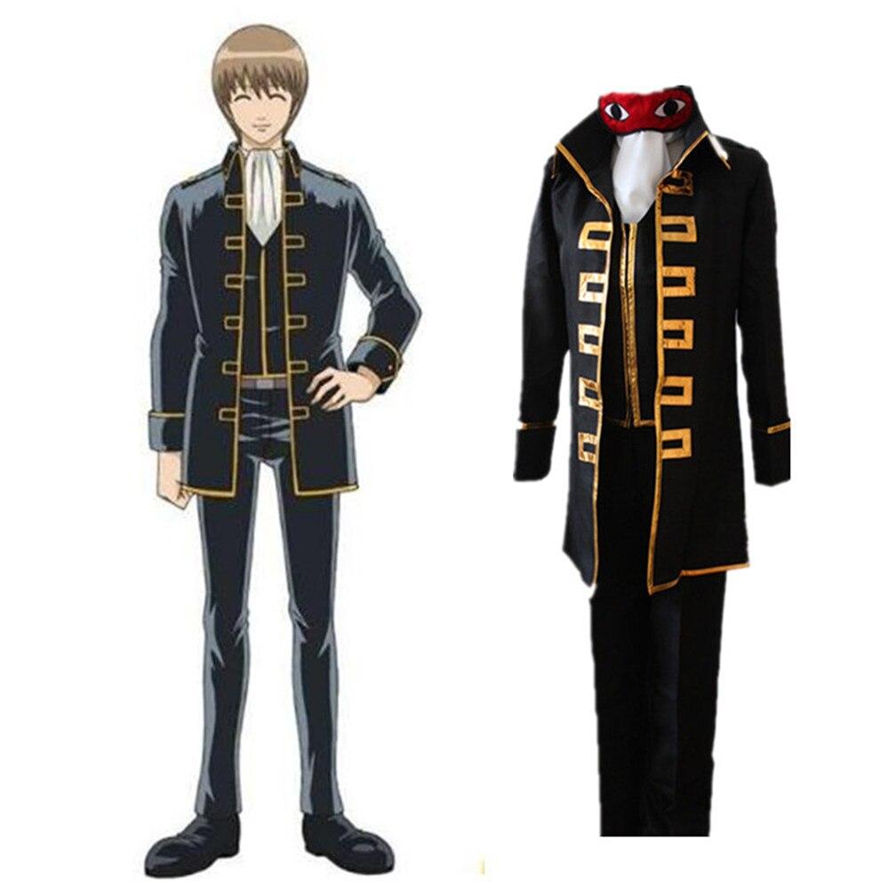 Nouveau Gintama uniforme Satoru Magintamashi Okita Shinsengumi japonais Anime Hijikata Toshiro Halloween fête Cosplay Costume