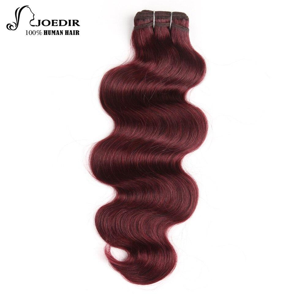 Joedir Hair Brazilian Remy Human Hair Weave Body Wave Color 99J And Piano Color P427 Burgundy Bundles Deals