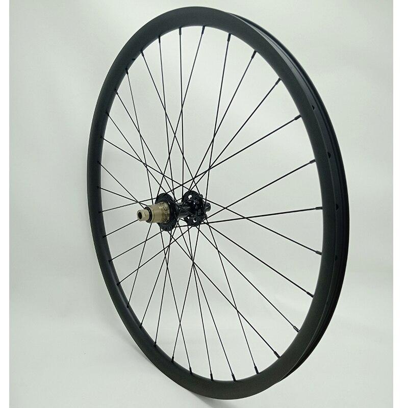 29er carbon disc wheel Ultralight 28x22mm hookless bitex R211 boost rear 148x12mm bicycle wheel 740g mtb