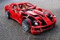 DECOOL 599GTB Модель строительство комплект совместимо с lego F1 Racing 3D блоки Образовательной модели и строительство игрушки хобби для детей