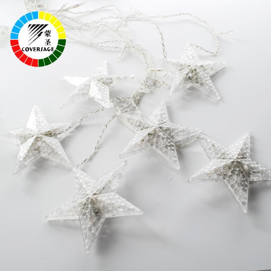 Coversage 138Leds Fairy String Lights Cortina Girnaldas Luces Navidad - Iluminación de vacaciones - foto 6