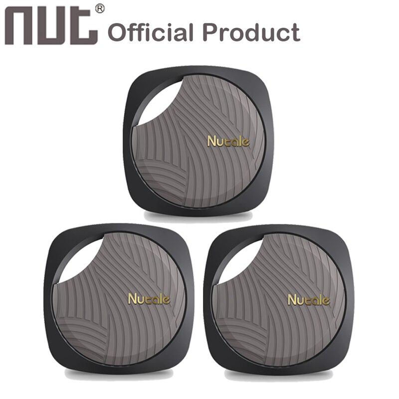 Smart key Finder écrou Nutale Focus F9 2 3 Mini Itag Anti-perte rappel Pet portefeuille téléphone Finder Bluetooth Tracker pour téléphone 3 pièces