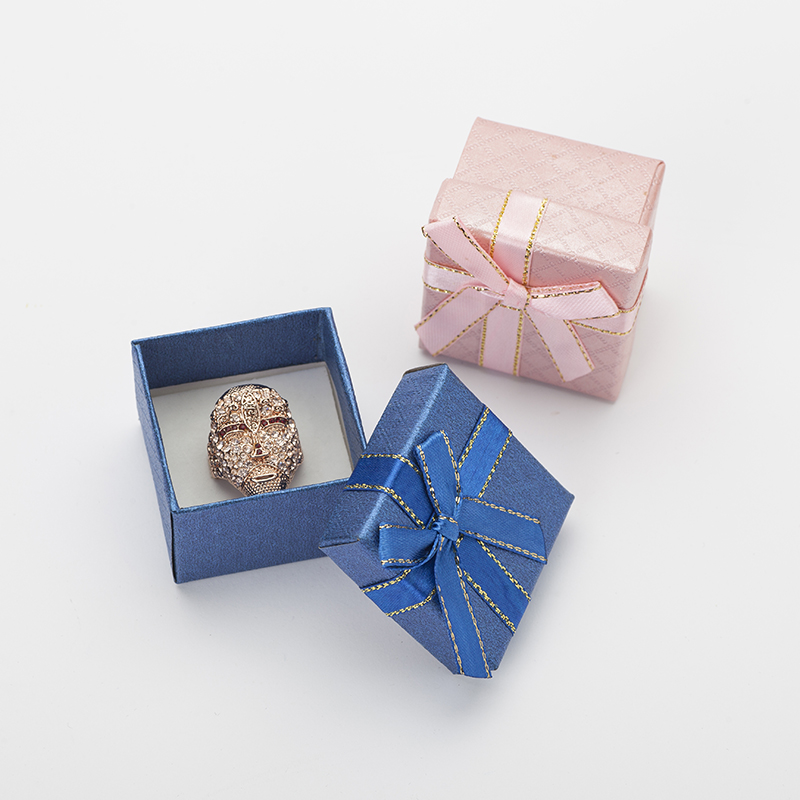 5x5x3cm Jewelry Box For Ring Box 6pcslot Multi Color Pendant