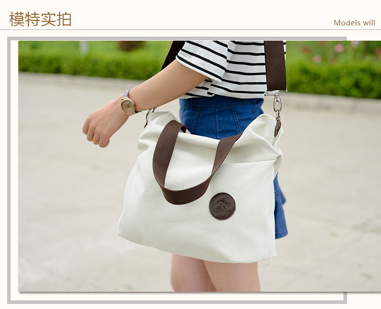 Hot Sell Casual Shopping Bag Women Fashion Large Capacity Canvas Totes Ladies Eco-Friendly Reusable Shopping Canvas BagHot Sell Casual Shopping Bag Women Fashion Large Capacity Canvas Totes Ladies Eco-Friendly Reusable Shopping Canvas Bag