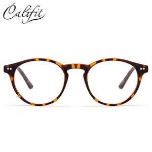 Image 2 - CALIFIT สุภาพสตรี Optical แว่นตาสีกรอบแว่นตา Progressive แว่นตาผู้หญิงเลนส์สายตา