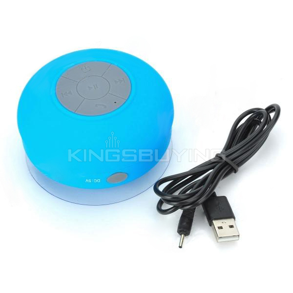Water Resistant Silicone Bluetooth v3.0 + EDR 2 Channel Speaker w ...