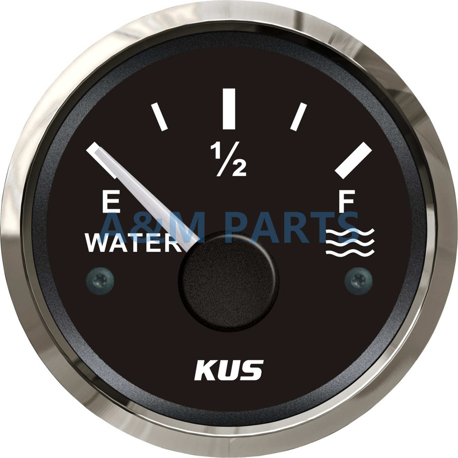 Kus Marine Water Level Gauge Boat Water Tank Level Gauge Indicator Empty Full Red/yellow Led 12/24v 52mm 240-33 Ohms Preventing Hairs From Graying And Helpful To Retain Complexion