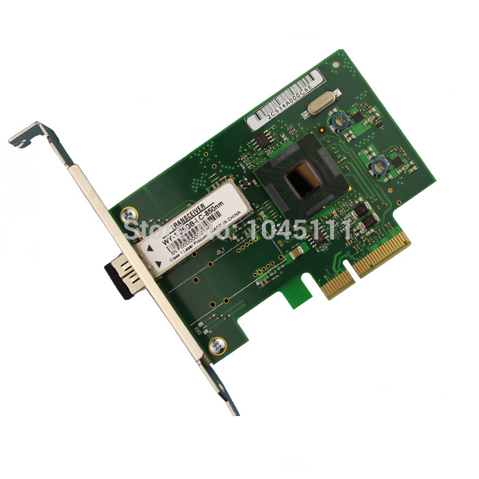 Winyao WY576-F1 PCI-E X4 Gigabit Fiber Server Ethernet Network Adapter NIC w/ Intel82576 Chipset Diskless Multimode LC9400PF al ko 112896 jaso fd 1л