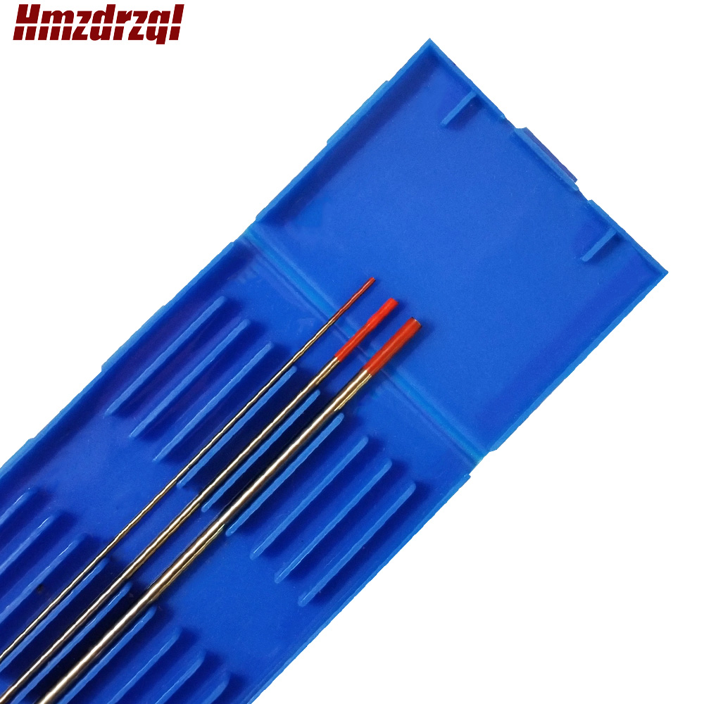 "3 Piece  WT20 0.04""X6"" 1/16""X6"" 3/32""  Thoriated Tungsten Electrode Head Tungsten Needle Red"