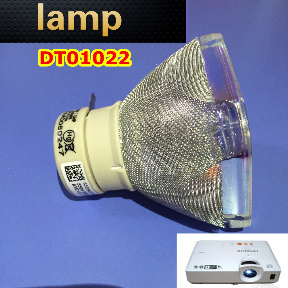 High Quality Projector Lamp Bulb DT01022 for Hitachi Projectors CP-RX78 CP-RX80W CP-RX80 ED-X24 CP-RX78W dt01151 projector lamp with housing for hitachi cp rx79 ed x26 cp rx82 cp rx93 projectors