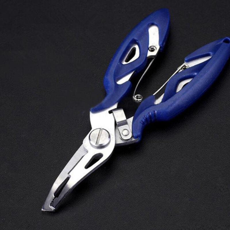 Fishing Tools Aluminum Fishing Pliers Scissors Line Cutter Braid Cutter Hook Remover Tackle Shearspesca Acesorios