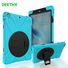 DEETHX,Tablet Case For Apple iPad Air 1, A1474 A1475 A1476,Duty Shockproof Hybrid Rubber Rugged Hard Protective Shell Cover case