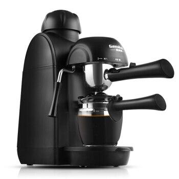 Máquina de café automática do gotejamento do espresso do vapor botão clássico fácil operação máquina de café com grande pote de café conjunto de ferramentas de chá