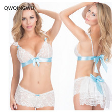 Hot Exotic Sets Sexy Lingerie Women Top Underwear Set Sexy Erotic Lingerie Lace Sleepwear Erotic Sleepwear Nightwear Exotic Sets