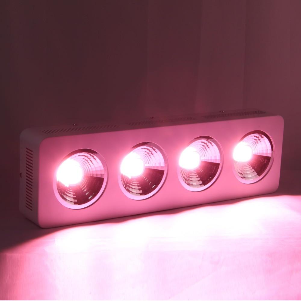 800 W Tam Spektrum Sera Hidroponik kapalı Tıbbi bitkiler için COB reflektör ile Işıkları Büyümeye yol açtı büyümek çadır