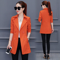 2018 Spring New Women Slim Wild Fashion Models Korean Version Of The Small Suit Jacket Female
