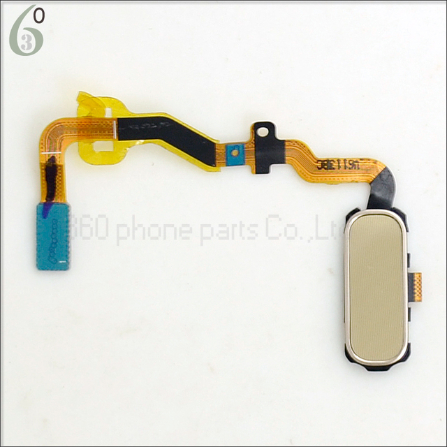 Garantia 100% home button cabo flex cap chave + para assembléia samsung galaxy s7 edge