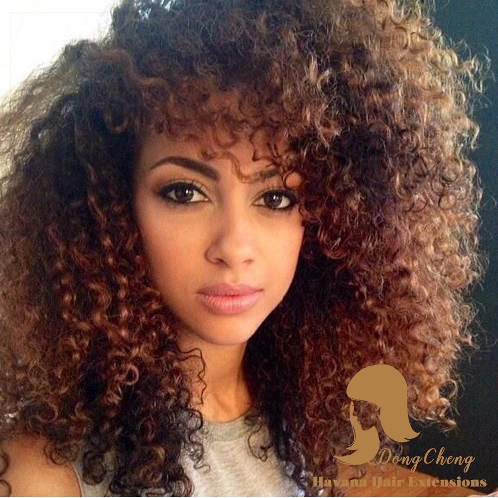 Crochet Braids Curly Afro : Afro kinky twist marley braid hair synthetic afro kinky curly crochet ...