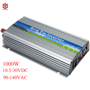 MAYLAR@ 1000W On Grid-connected Micro Inverter With MPPT Pure Sine Wave Inverter,Input 10.5-28VDC,Output 90-140VAC ,50Hz/60Hz