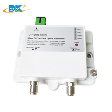 CATV+STA-IF Micro Optical Transmitter OTH-2013-10mW 47-2150MHz FTTH 1310nm single mode 12V DC MiniOptical