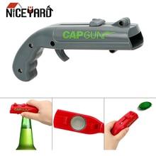Bottle-Opener Spring-Cap Kitchen-Gadgets Shooter Catapult Launcher Gun-Shape Beer Drink-Opening