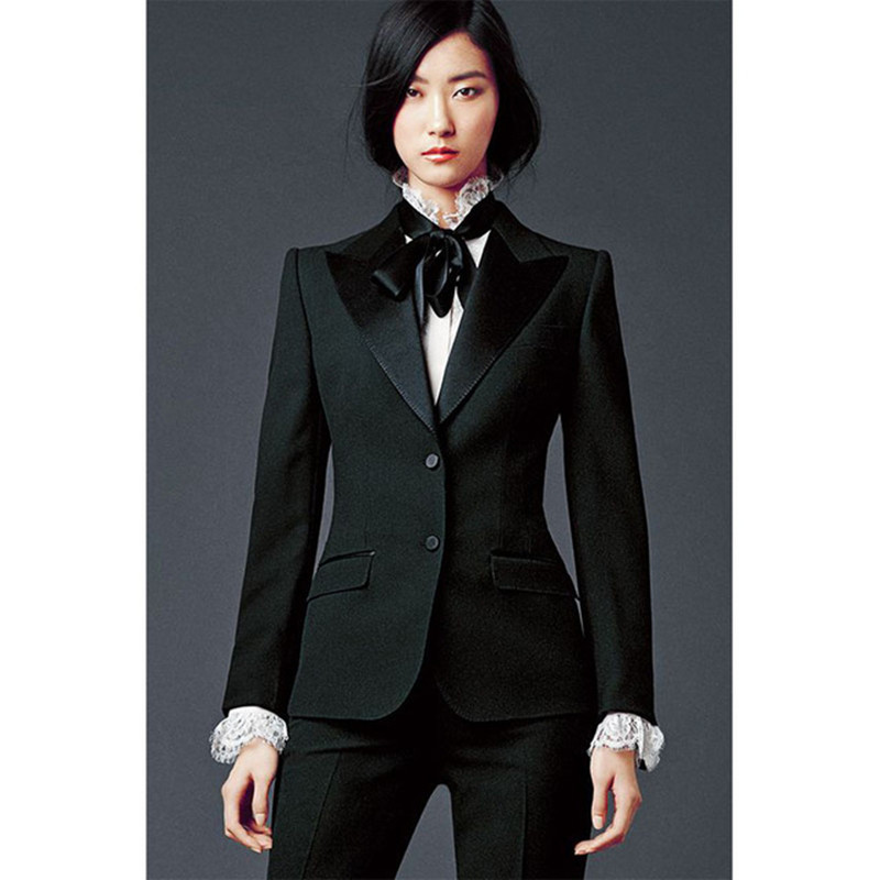 Women's New High-grade Slim And Elegant Suit Two-piece Suit (jacket + Pants) Women's Business Suits Support Customization
