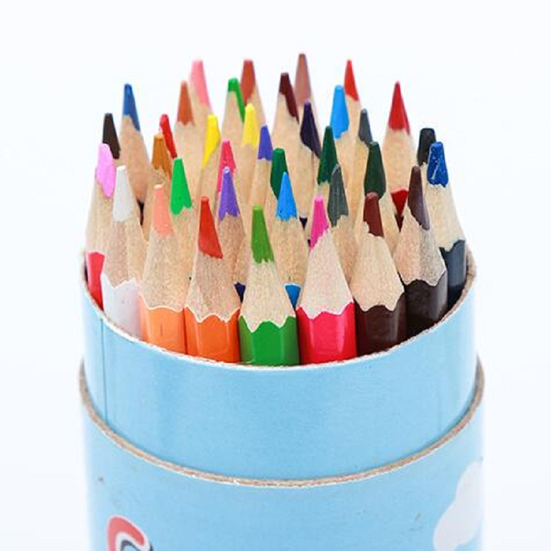 36 colors child Drawing Pencil School Pencil Sketch Drawing Pencil Best Quality Non-toxic Standard Art Supplies Pencils 2017 marco 50 pieces box hb sketch painting drawing pencil set best quality non toxic standard pencils for office school pencil