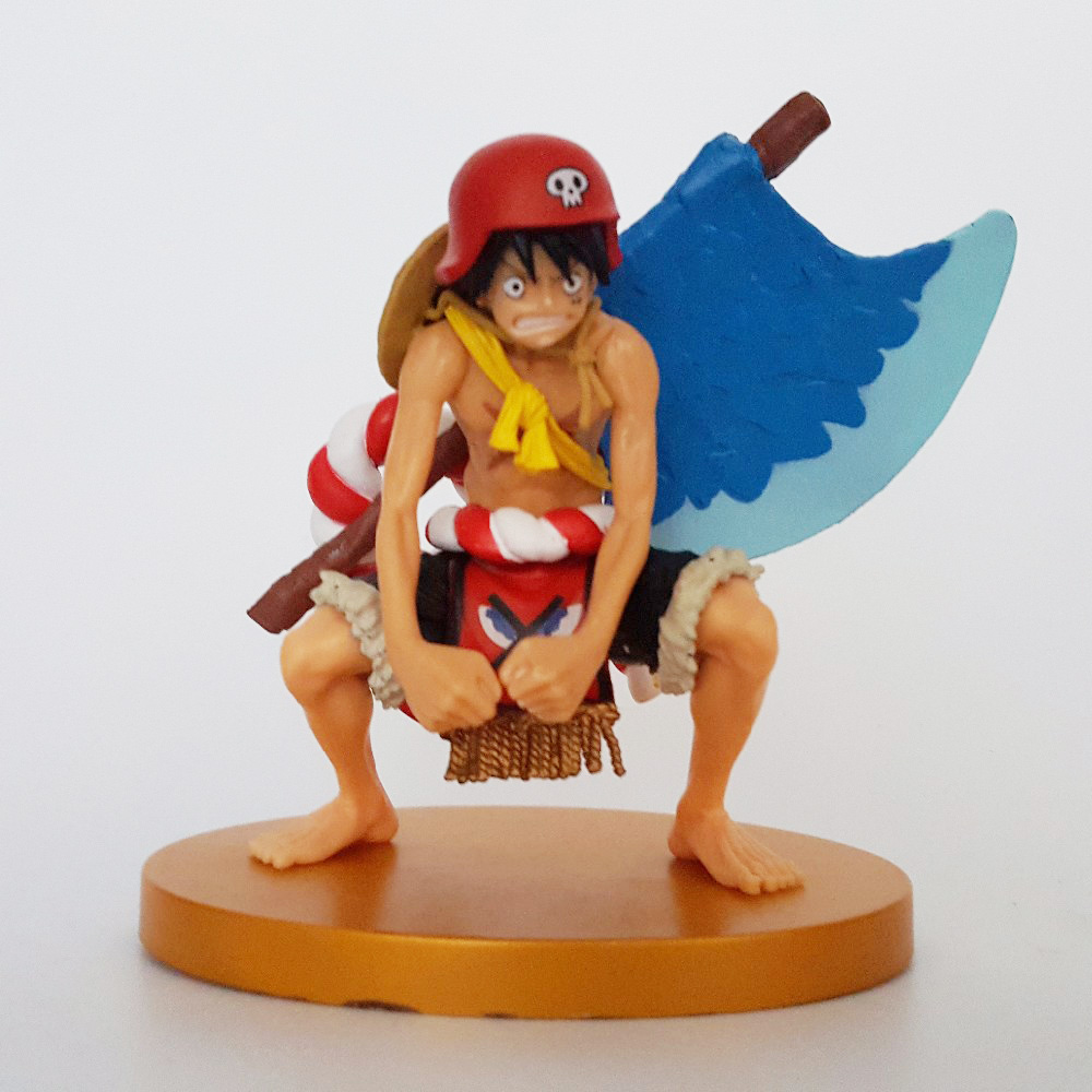 One Piece Action Figures Luffy PVC Model Toys Onepiece Film Gold Anime Monkey D Luffy Japanese Anime Figure Toy 13CM