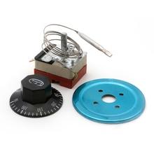 Переключатель термостата с циферблатом для электрической духовки AC 220V 16A 50-300C градусов