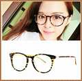 Brand Round Acetate Glasses Optical Frame Vintage Eyeglasses Men Women Computer Eyewear Spectacle Frames oculos de grau 5114