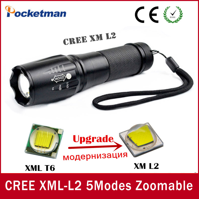 Lights & Lighting Led Lighting 4000 Lumens High Power Xml-l2 5 Modes Led Flashlight Waterproof Zoomable Torch Lights Lampe Torche Linterna Led To Produce An Effect Toward Clear Vision
