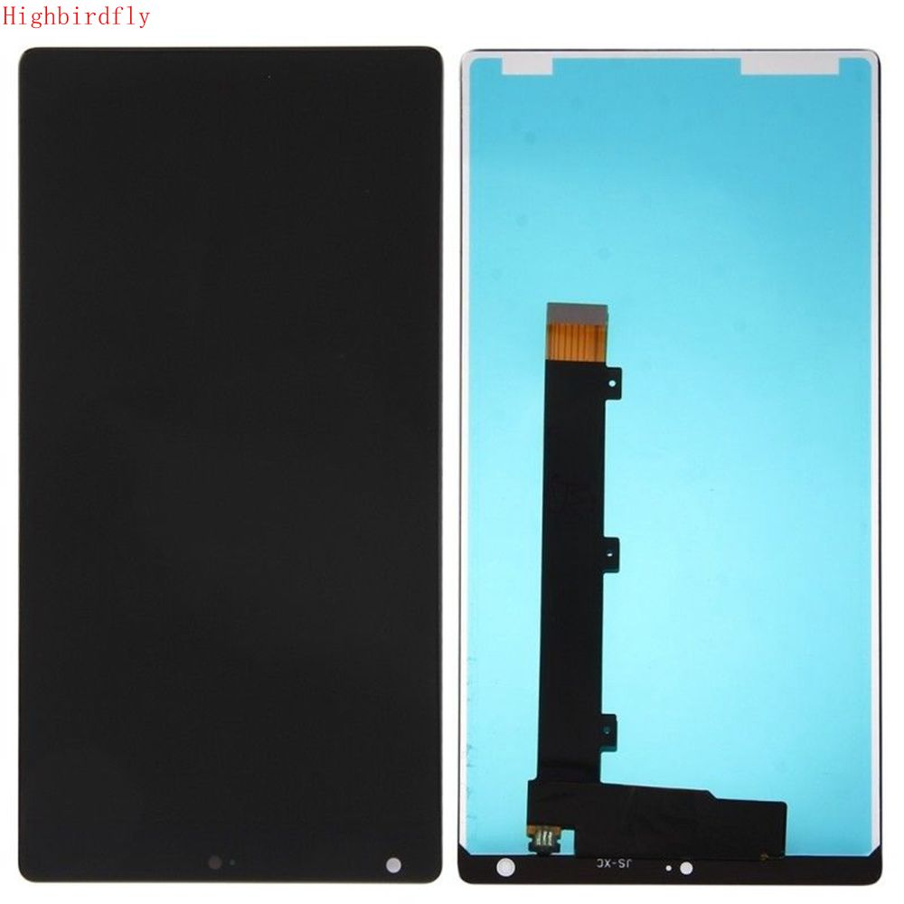 Highbirdfly For font b Xiaomi b font Mix Lcd Display Touch Screen Digitizer Assembly Replacement parts