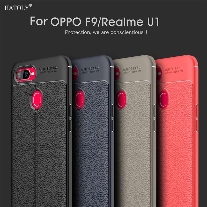 For Cover OPPO Realme U1 Case Capas Silicon Leather Case For OPPO Realme U1 Bumper Phone Case Funda Hoesje