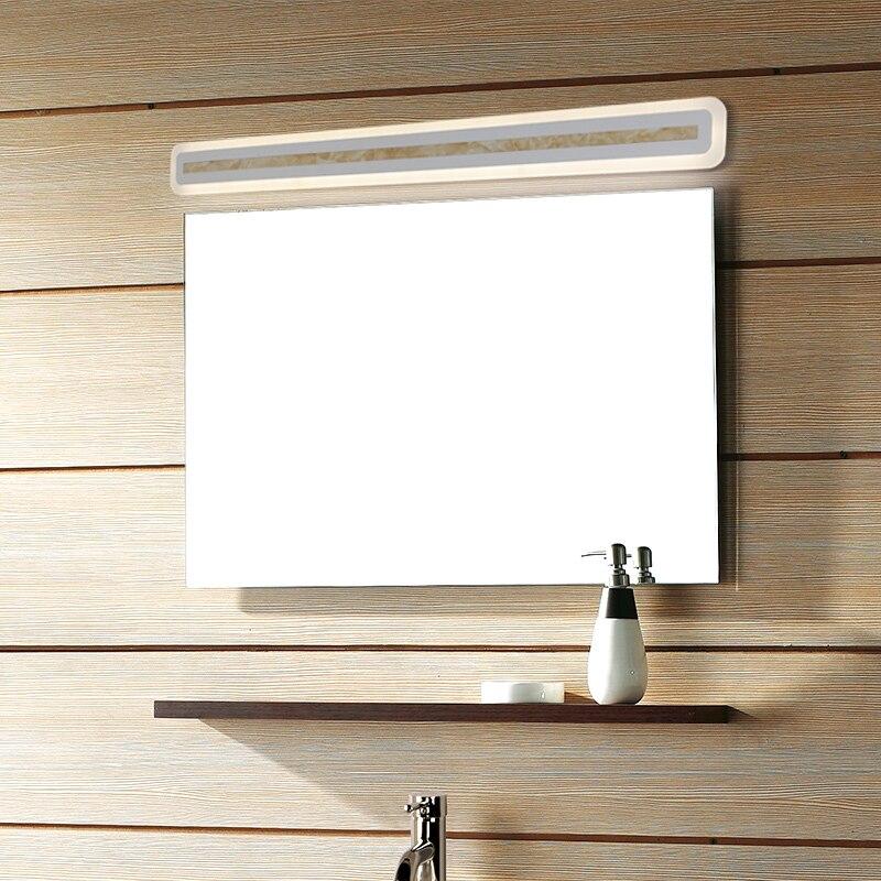 15W-47W Led Mirror Light Wall Mounted Bathroom light AC180-240V wall Aluminum Acrylic 40/60/80/100/120 CM Lamp