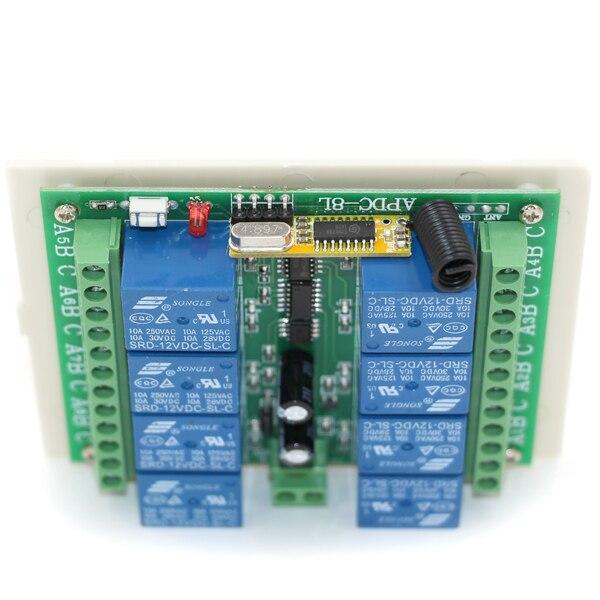 Interruptores e Relés 1 x receiver, 315/433 mhz Tipo de Item : Interruptores
