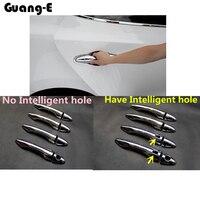 For Hyunda1 IX35 2010 2011 2012 Car Body Style Cover Detector External Stick Frame Lamp Trim