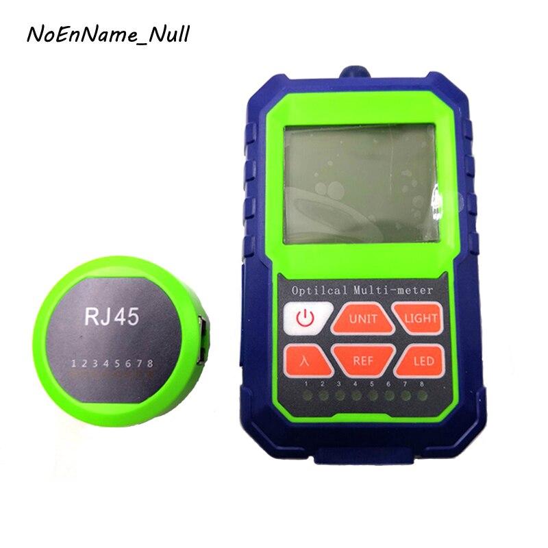 NoEnName_Null 1Pcs Mini Fiber Optical Power Meter with Light Source Optic Test Equipment for CCTV CATV Communication Engineering