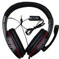 A Estrenar Grande Wired gaming Headset auriculares con Micrófono Auriculares para juegos PS4 PS4