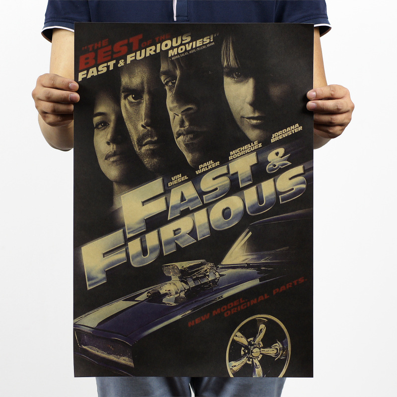 Fast And Furious Classic Movie Poster