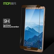 Для huawei Коврики 10 Стекло закаленное 9h 2,5D бренд Mofi для huawei Коврики 10 Pro Экран протектор фильм полное покрытие закаленное Стекло