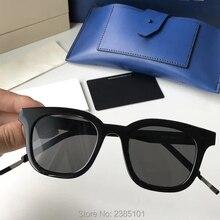 Корея bigbang Бренд Винтаж квадратный солнцезащитные очки для женщин Нежный Glasse ацетат материал Óculos де Грау для мужчин
